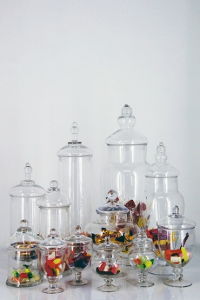 Candy Buffets & Cake Tins/Stands